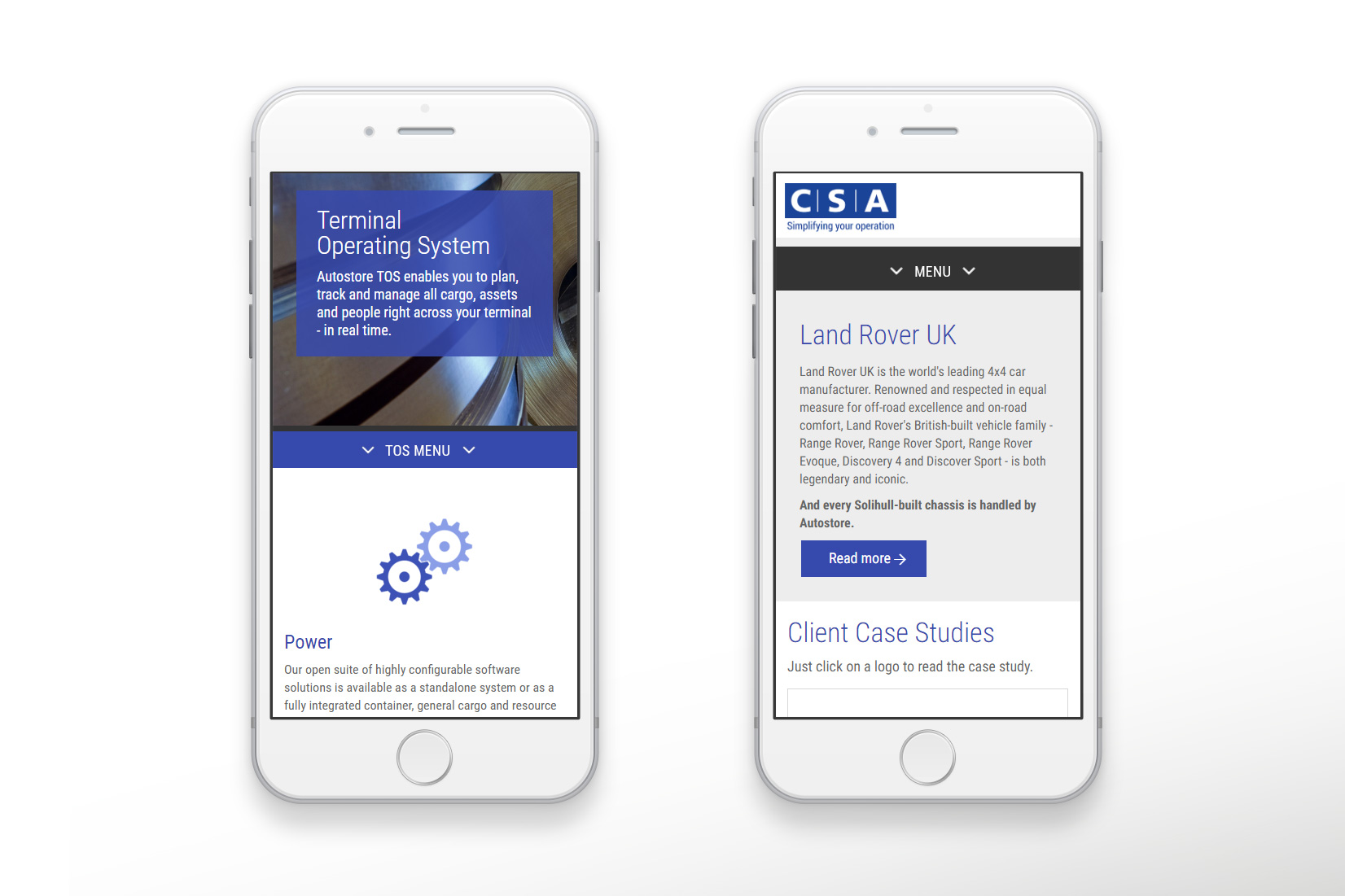 Central Systems - web design and CMS